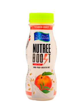 Nutree Boost Peach Green Tea With Oats