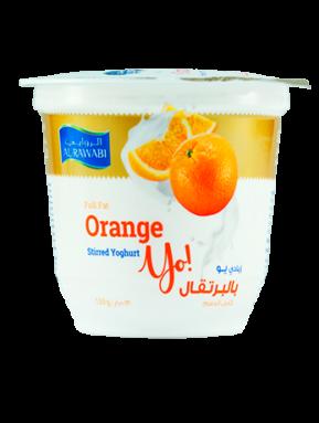 Orange Fruit Yoghurt