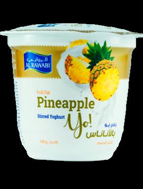 Pineapple Fruit Yoghurt