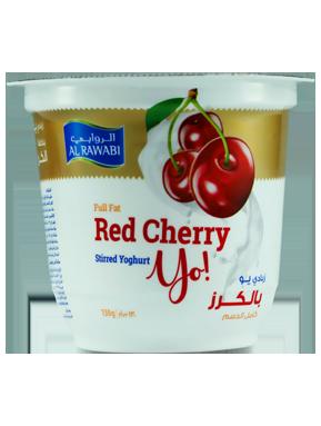 Red Cherry Fruit Yoghurt