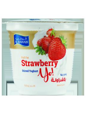 Strawberry Fruit Yoghurt
