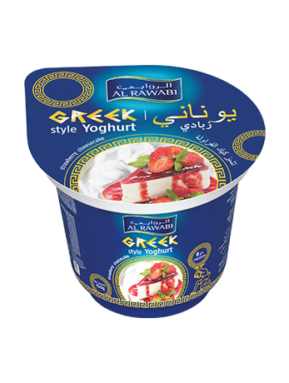 Greek Yoghurt Strawberry Cheesecake